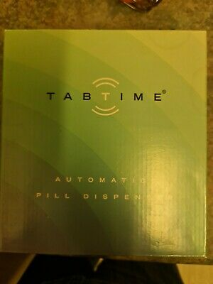 £79 • Buy TabTime Medelert CII Automatic Pill Dispenser, 6 Alarms Per Day. Clear Lockable