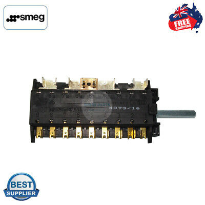 AU63.95 • Buy Genuine Smeg Oven Function Selector Switch Suit Sa9066xs Free &same Day Shipping