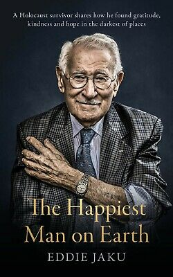 AU23.30 • Buy The Happiest Man On Earth By Eddie Jaku | HARDCOVER BOOK | FREE AU SHIPPING!!!