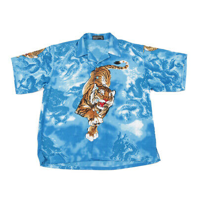 £27.99 • Buy Vintage Chinese Tiger Shirt   Large   Retro Graphic Dragon Y2k Party