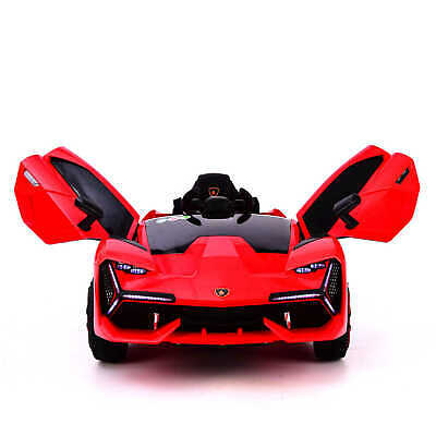 £135.99 • Buy 12v Electric Ride On Lamborghini Style Ride On Car With Parental Remote Lambo