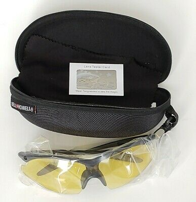 AU18.61 • Buy Bell+Howell TAC GLASSES One-Size-Fits-All Polarized Sports Sunglasses  K41