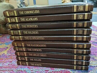 TIME LIFE The Old West Series Books, 10 Books • 32.87£
