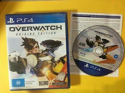 AU13.90 • Buy Overwatch Origins Edition - Ps4 Playstation 4 - Vgc - Free Post