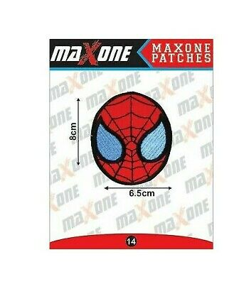 £2.79 • Buy SPIDER MAN MARVEL Finest  EMBROIDERED Iron On Sew On PATCH 8cm X 6.5cm UK Seller