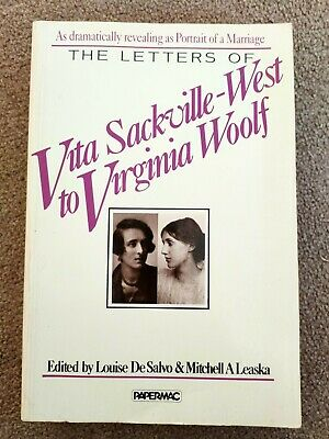£24 • Buy The Letters Of Vita Sackville-West To Virginia Woolf Paperback 1985