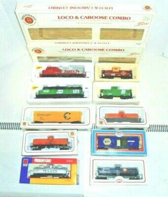 $ CDN94.49 • Buy Ho Scale Trains Two Sets Of Trains Two Engines And Freight Cars Bachmann More