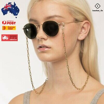AU7.99 • Buy Sunnies Chain Sunglasses Spectacles Eyewear Chain Holder Cord Lanyard Necklace A