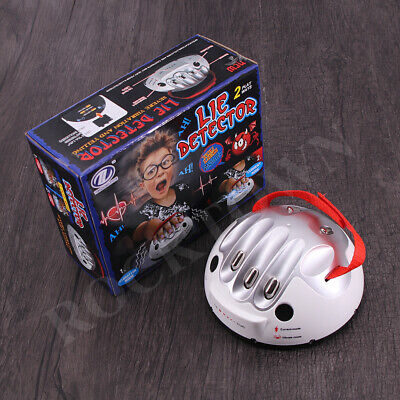 £18.72 • Buy Electric Shock Lie Detector Polygraph Test Tricky Funny Adjustable Adult Micro