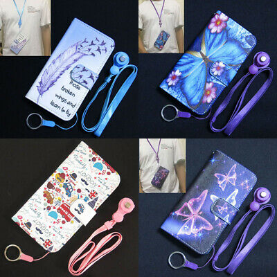 AU9.72 • Buy Learn To Fly Butterfly London Wallet Flip TPU Case Cover For Iphone OPPO Lenovo