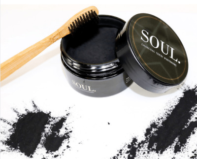 AU19.95 • Buy Activated Charcoal Teeth Whitening & Charcoal Toothbrush (FREE EXPRESS DELIVERY)