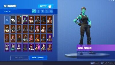 $ CDN25 • Buy Account 200 Skin + ✅Renegade Raider & Ghoul Og✅ MULTIPLE ACCOUNTS ✅