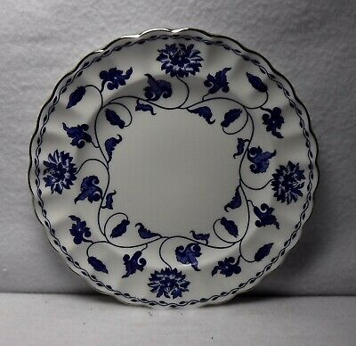 £15.25 • Buy SPODE China COLONEL BLUE Platinum Trim Y8618-AO Pattern Bread Plate  6-3/8