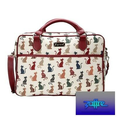 £25.99 • Buy Signare Tapestry 15.6  Laptop Case - Cheeky Cat