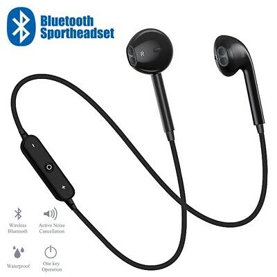 Wireless Bluetooth Headphones Sports Gym Running Earphones For IPhone Samsung UK • 3.29£