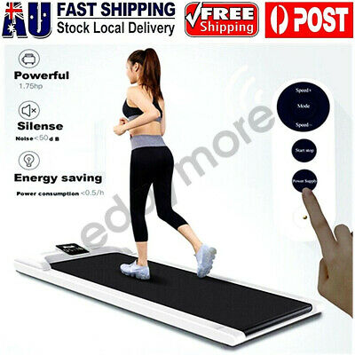 AU288.99 • Buy Electric Walking Pad Treadmill Exercise Machine Fitness LCD Display Home Office