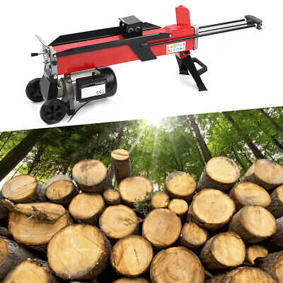 7 Ton Heavy Duty Electric Log Splitter Hydraulic Wood Axe Timber Cutter Machine • 324.99£