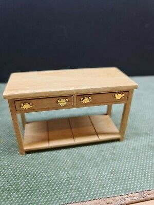 Dolls House Furniture Emporium Pine Kitchen Work Table 1.12th  • 6.50£