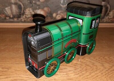 Novelty Collectable Steam Train Sweet Tin. Brand New With  Fudge. • 7.95£