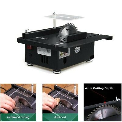 120W Portable Mini Table Saw Cutting Engraving Handmade Woodworking Lathe Bench • 107.65£