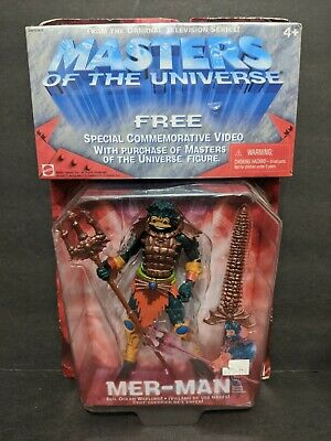 $27.99 • Buy MER-MAN (1st Version) 200x Masters Of The Universe Unopened He-Man W/ VHS
