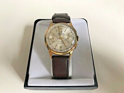 $ CDN679.19 • Buy Rare Vintage Mithras Chronograph 17 Jewels Wristwatch Working Condition