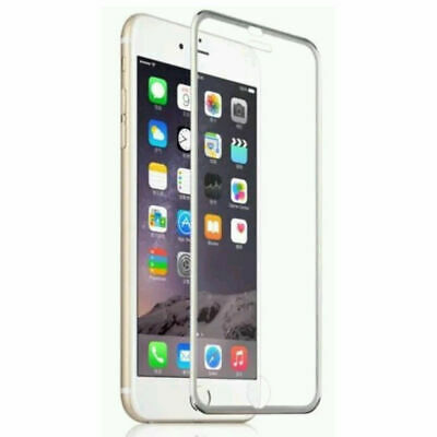 For IPhone 6S 7 8 PLUS 6D Curved Full Cover Tempered Glass Screen Protector Film • 1.29£