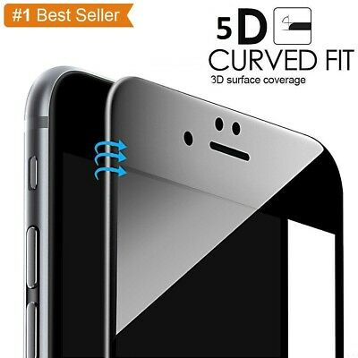 For Apple IPhone 6 6sPLUS  7 8 PLUS Full Cover Tempered Glass Screen Protector • 1.99£