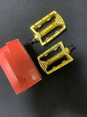AU212.59 • Buy Bmx KKT AMX GOLD PEDAL 9/16 New Old Stock