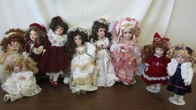 $ CDN181.48 • Buy Lot Of Porcelain Dolls 12 Pounds Collection  Samantha Medici