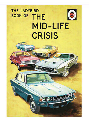 The Lady Bird Book Of The Mid Life Crisis For Adults Hard Back Book Joke • 6.50£