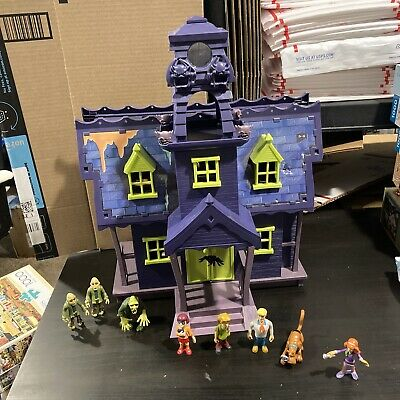 £29.08 • Buy Vintage Scooby Doo Playset Haunted Mansion Lot With 8 Figures