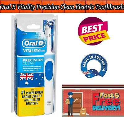 AU31.49 • Buy Oral B Vitality Precision Clean Electric Toothbrush With 2 New Refills