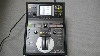 £872.75 • Buy Roland V-4EX Compact Video Mixer 4 Channels Digital Video Mixer Touch Control