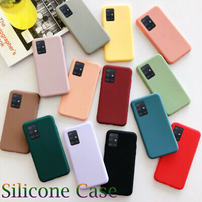 $ CDN3.77 • Buy For Samsung Galaxy S20 Ultra S10 S9 S8 + Slim Soft Silicone TPU Phone Case Cover