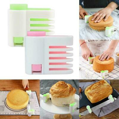 £2.76 • Buy 2pcs 5Layers DIY Cake Bread Cutter Leveler Slicer Cutting Levellers Fixator G2R8