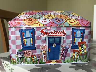 Swizzels Limited Edition Metal Hinged Lid Tin With Sweets Lovely Xmas Gift🎄🎁 • 5.99£
