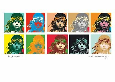 £24.99 • Buy Les MIserables Anniversary Andy Warhol Pop Art Style Poster 20x30  Reprint Rare