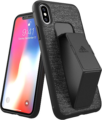 AU19.67 • Buy Adidas Active Grip Case For Apple IPhone X/Xs, Black