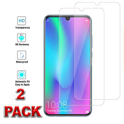 For Huawei P20 Pro,lite,p30 Lite Full Glue Clear Tempered Glass Screen Protector • 2.45£