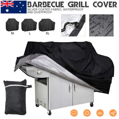 AU20.37 • Buy 2/4/6 Burner BBQ Cover Waterproof Outdoor Gas Charcoal Barbecue Grill Protector