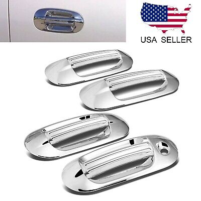 $22.99 • Buy For 2003-2017 Ford Expedition / Lincoln Navigator 8pcs Chrome Door Handle Covers