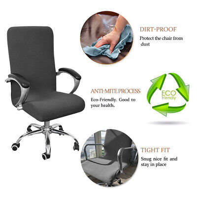 AU19.29 • Buy Waterproof Swivel Seat Computer Office Chair Covers Stretch Protector Spandex