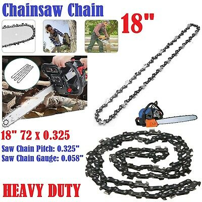 18  Inches Heavy Duty Electric Kings Bar Chainsaw Chain Precision Cutting Cutter • 8.45£