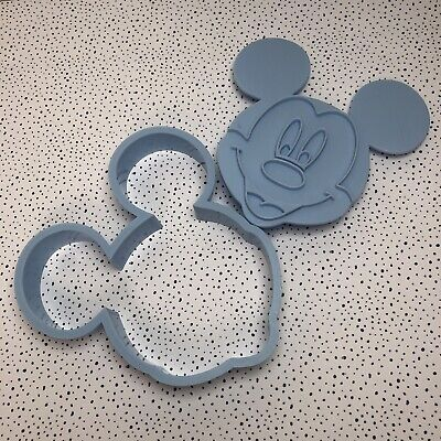 £5 • Buy Disney ,Mickey Mouse Cookie Cutter ,Fondant Cake Topper