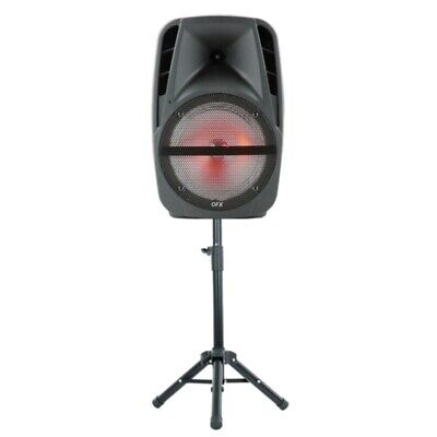 $ CDN207.57 • Buy QFX PBX-61161 15-Inch Portable Party Speaker With Wireless Microphone And Sta...