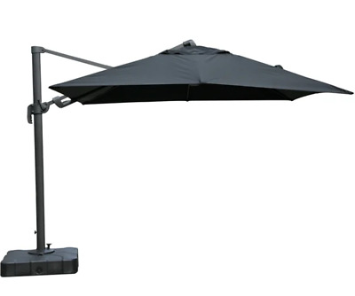 AU590 • Buy Mimosa 3m Andaman Square Cantilever Umbrella With Water Base