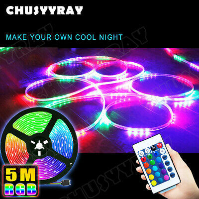 $10.49 • Buy 16ft RGB Wireless Control Waterproof LED Strip Light For Boat Truck Car SUV RV