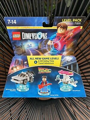 AU80 • Buy LEGO Dimensions 71201 Back To The Future Level Pack RARE AND SEALED! Marty McFly