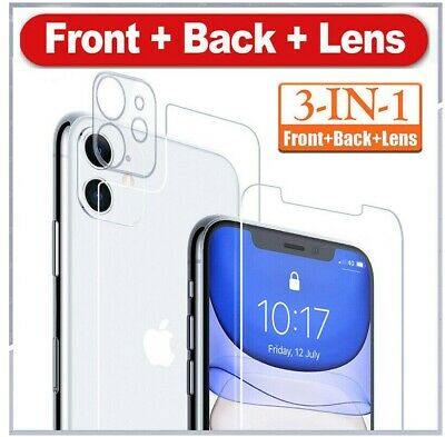 £2.79 • Buy Camera Lens + Tempered Glass Screen Protector For IPhone 12 11 Pro MAX XR X XMAX